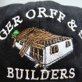 Roger Orff Builders embroidered Cap graphic