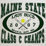 Maine State Class C Champs | Lady Bucs
