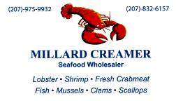 Millard Creamer Seafood Wholesaler