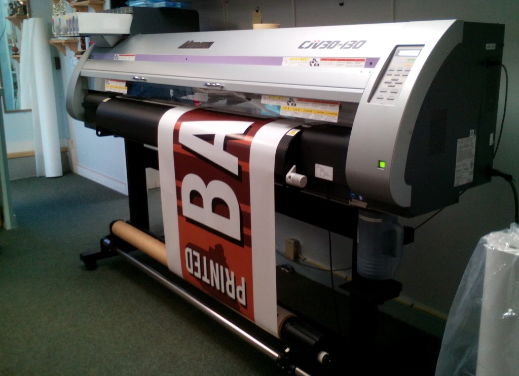 printed banners, Maine Printing