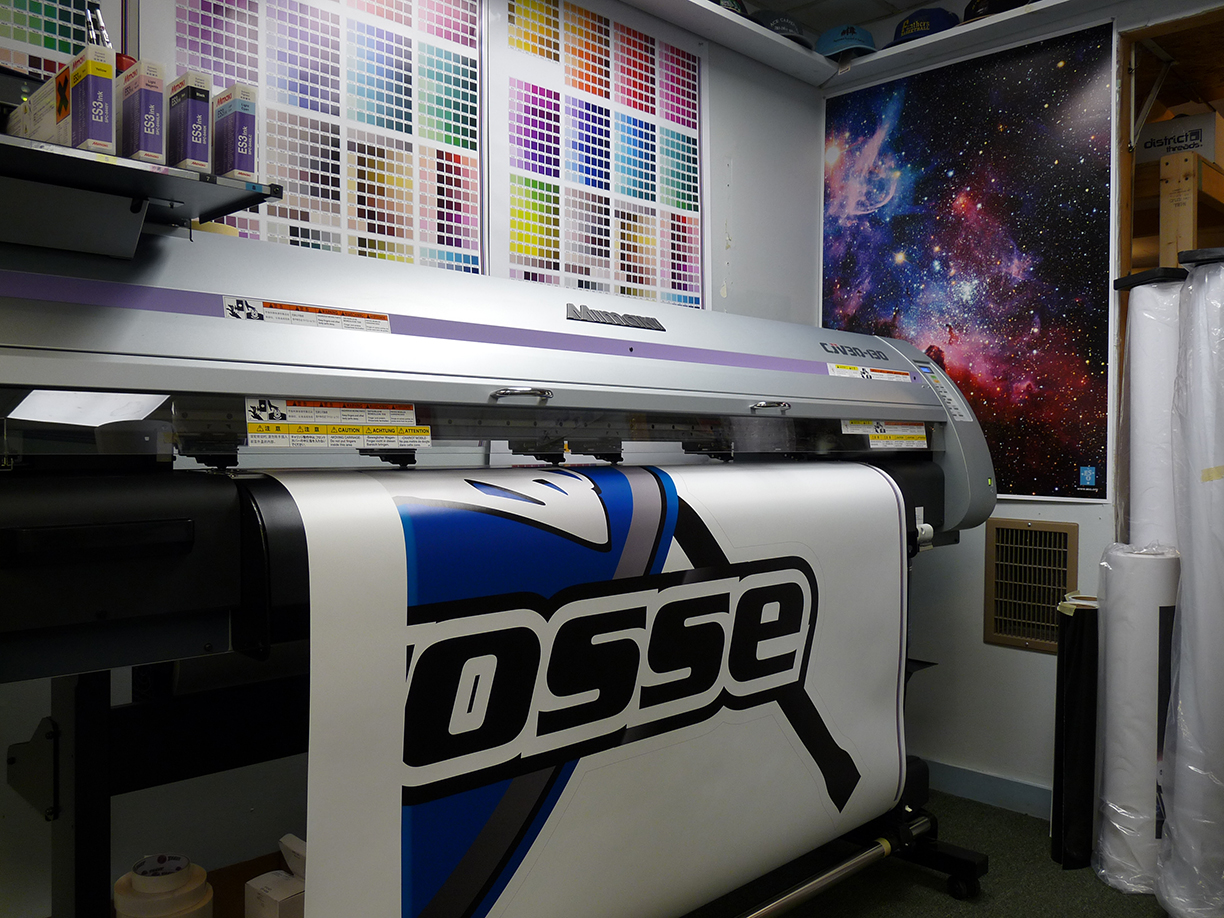 Wall Graphics Maine Printing Embroidery