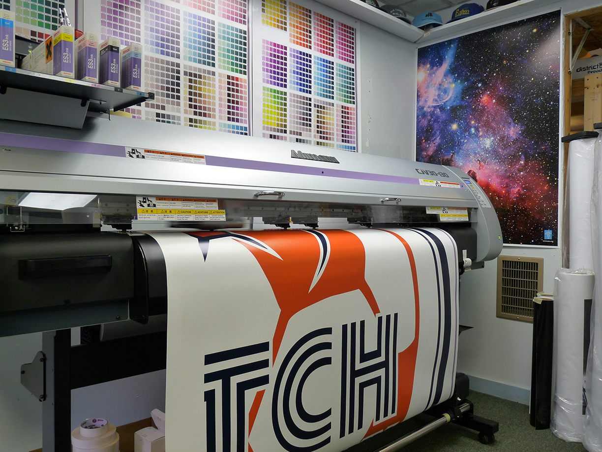 Wall Graphics Maine Printing Amp Embroidery
