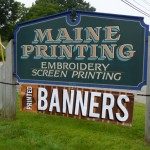 Maine Printing Digital Banners In The House
