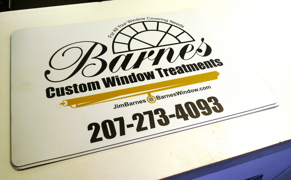 Magnetic Signs, Vehicle Magnetics, Maine Printing And Embroidery
